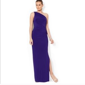 Ralph Lauren Royal Blue gown size 16